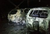 تصاویر/ آتش زدن خودروهای لوکس توسط جوان انتقامجو