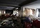تصاویر/ انفجار شدید خانههای مسکونی بر اثر نشت گاز