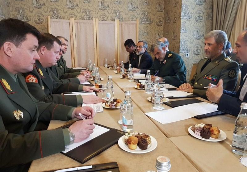 وزیر دفاع: ایران، روسیه و سوریه در مبارزه با تروریسم توطئههای زیادی را خنثی کردند