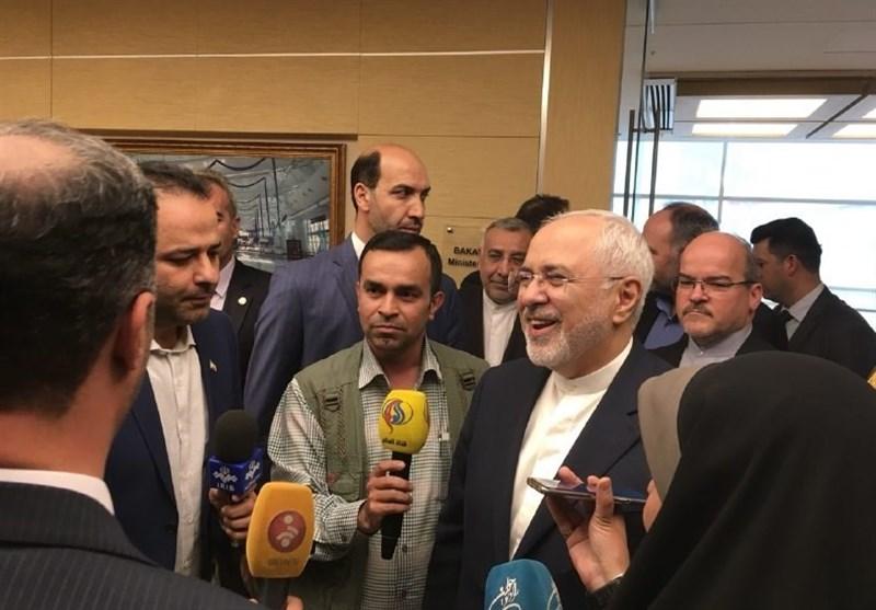 ظریف: واکنش ایران و جامعه جهانی به خروج آمریکا از برجام برایش خوشایند نخواهد بود