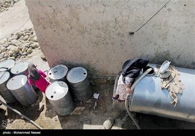 بحران آب درگلستان