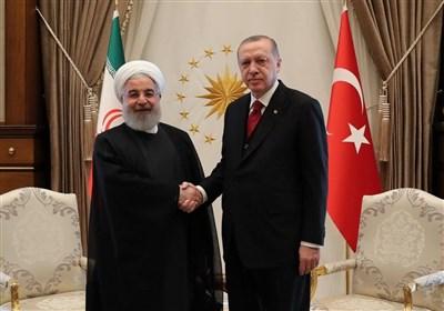 روحانی در دیدار اردوغان: روند آستانه منجر به بیشترین موفقیت ها برای مقابله با تروریسم در سوریه شد
