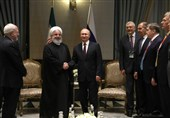 Iranian President Meets Russian, Turkish Counterparts in Ankara