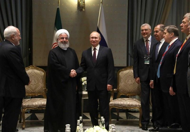 Iranian President Meets Russian, Turkish Counterparts in Ankara