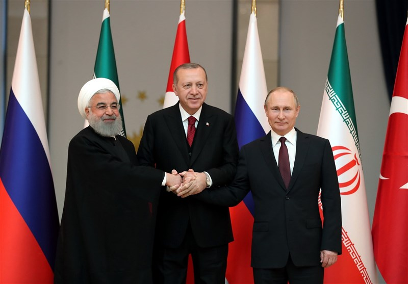 Iranian, Russian, Turkish Presidents Hold Talks on Syrian Crisis