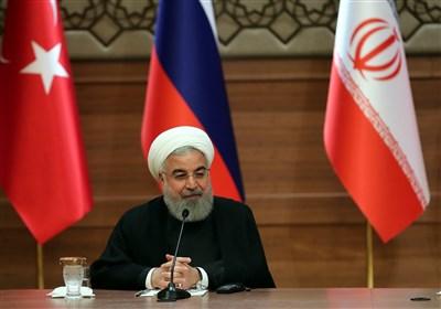 روحانی در پایان نشست آنکارا:  هیچ کشوری حق ندارد درباره آینده سوریه تصمیم بگیرد