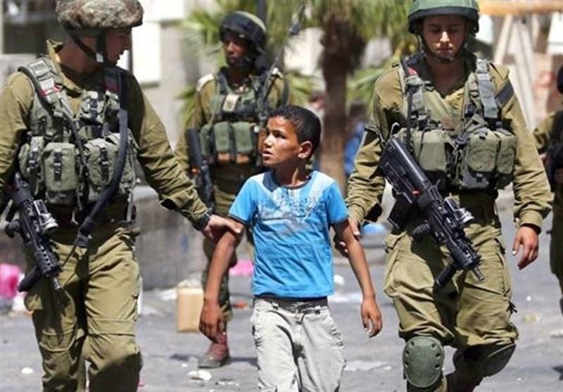 بازداشت ۳۵۰ کودک فلسطینی در زندانهای رژیم صهیونیستی