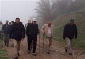 ساری رئیس مجلس از مناطق محروم ساری بازدید کرد+ تصاویر
