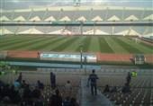 جام جهانی 2018| بینظمی در ورزشگاه آزادی و تماشای بازی ایران و اسپانیا در تاریکی + تصاویر