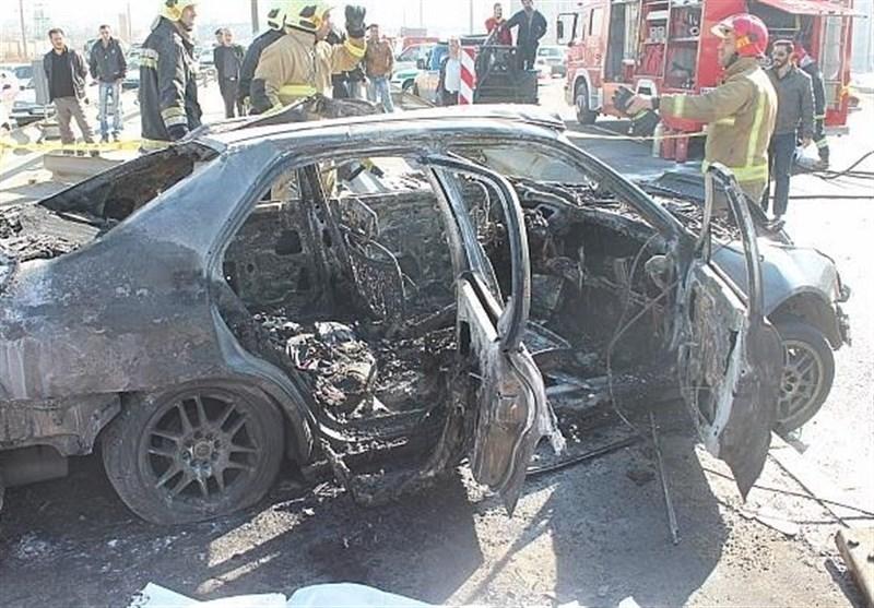 بوشهر 3 نفر در تصادف زانتیا با کامیون در جاده دیلم جان باختند