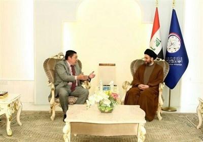 عمار حکیم در دیدار سفیر انگلیس: انتخابات پیش رو عراق را به مرحله ثبات منتقل می کند