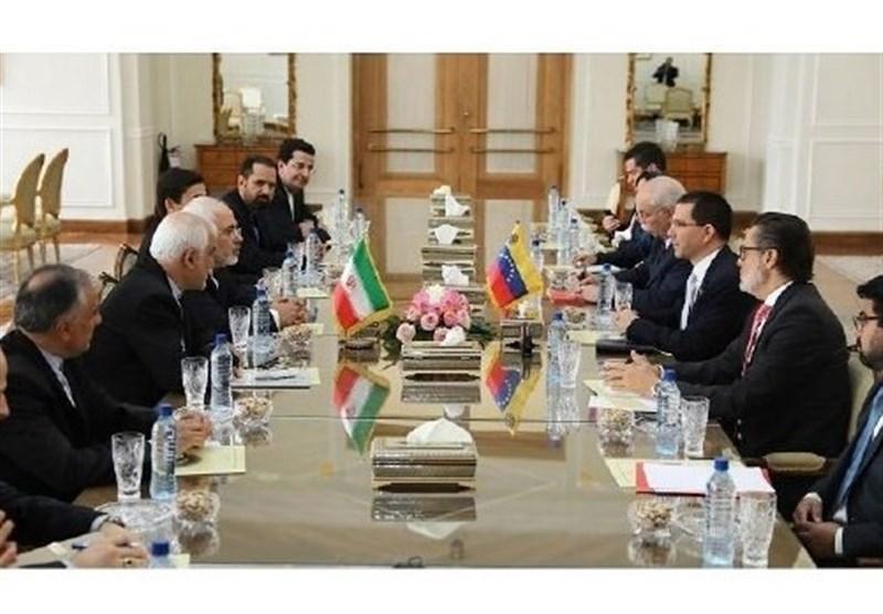 وینزویلا کے وزیر خارجہ کی جواد ظریف سے ملاقات