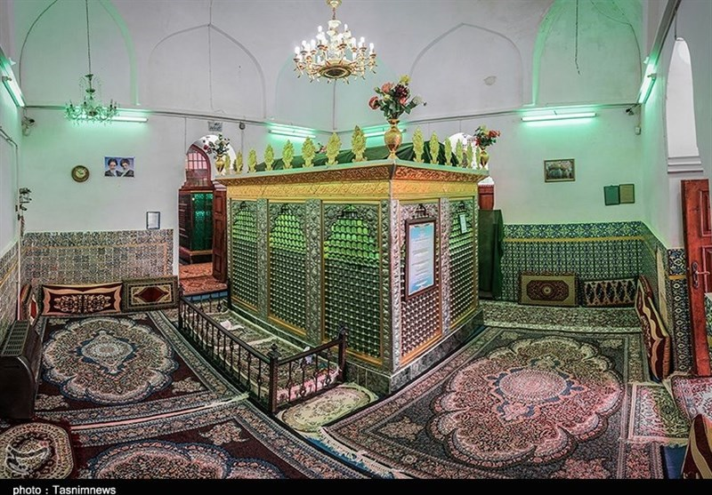 Tomb of Sheikh Zahed Gilani; Historic Monument among Tea Fields