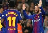 لالیگا|بارسلونا با هتتریک مسی رکورددار شد