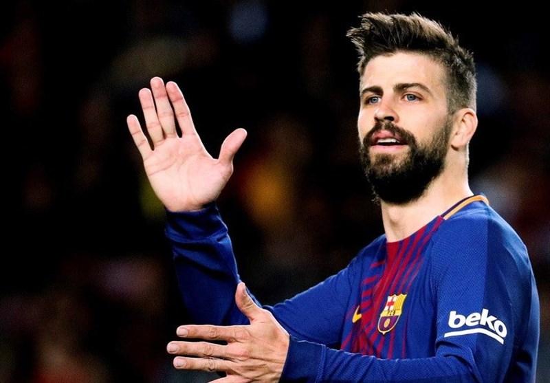 واکنش کنایهآمیز پیکه به مخالفت زیدان با زدن تونل افتخار برای بارسلونا