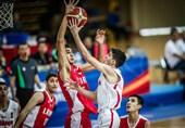 شکست ملیپوشان بسکتبال ایران مقابل صربستان