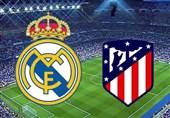 فوتبال جهان|اتلتیکومادرید- رئال مادرید؛ جنگ شهری برای تصاحب پله دوم