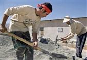 کرمانشاه| فعالیت 160 بسیجی کرمانشاهی در قالب اردوهای جهادی در مناطق زلزلهزده