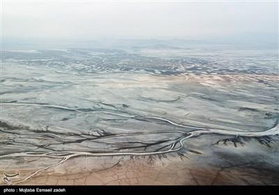 عکسهای هوایی دریاچه ارومیه