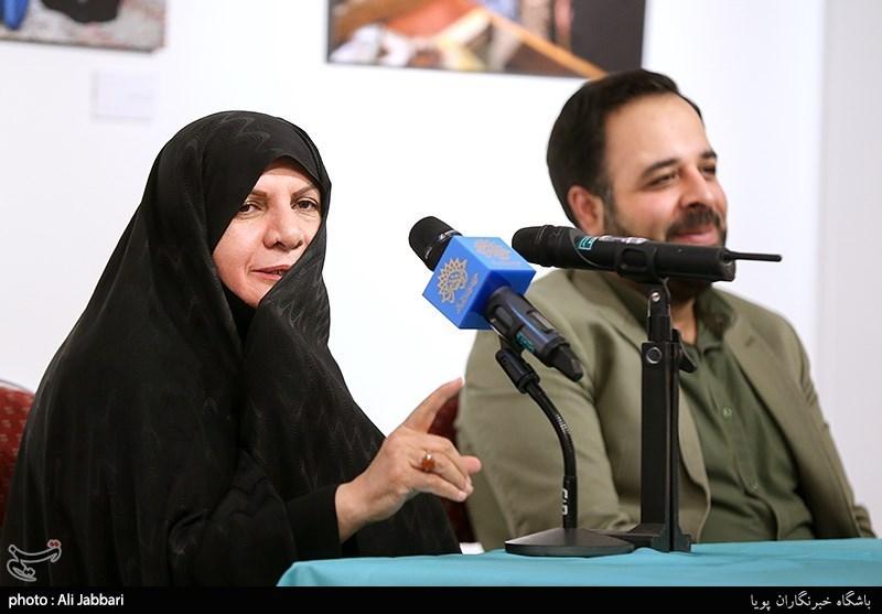 سخنرانی دکتر طاهره لباف نمایشگاه عکس«نشان زندگی»