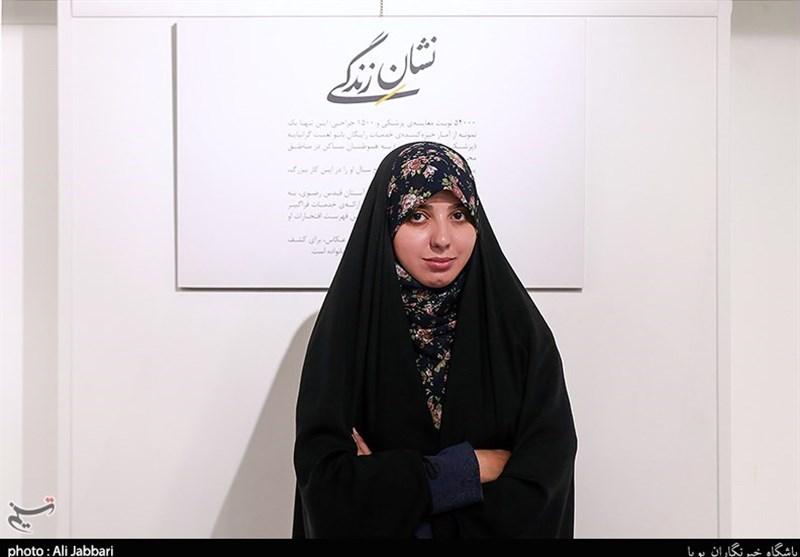 با عکسهایم موفقیت زنان محجبه ایرانی را نشان میدهم