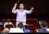 تمرین ارکستر سمفونیک تهران به رهبری پژمان معمارزاده به روایت عکس