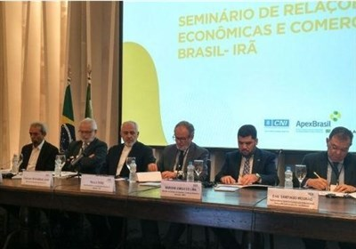 ظریف در جمع بازرگانان برزیلی: سرمایه گذاری در ایران دارای مزیت نسبی بالایی است
