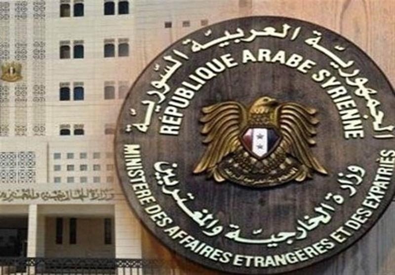 دمشق: أمریکا وفرنسا وبریطانیا تتحمل مسؤولیة الدماء التی سفکت فی سوریا
