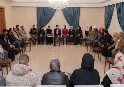 اسد خطاب به خانواده های ربوده شدگان: برای آزادی فرزندانتان از هیچ تلاشی دریغ نمی کنیم