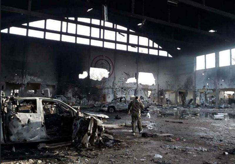انتشار تصاویر اولیه از محل شهادت مستشاران ایرانی در حمله موشکی به فرودگاه «T4»