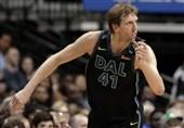 لیگ NBA| شکست وریرز در سان آنتونیو/ نویتسکی از رکورد چمبرلین گذشت