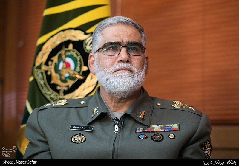 iran has intelligence data on bases in region general defense