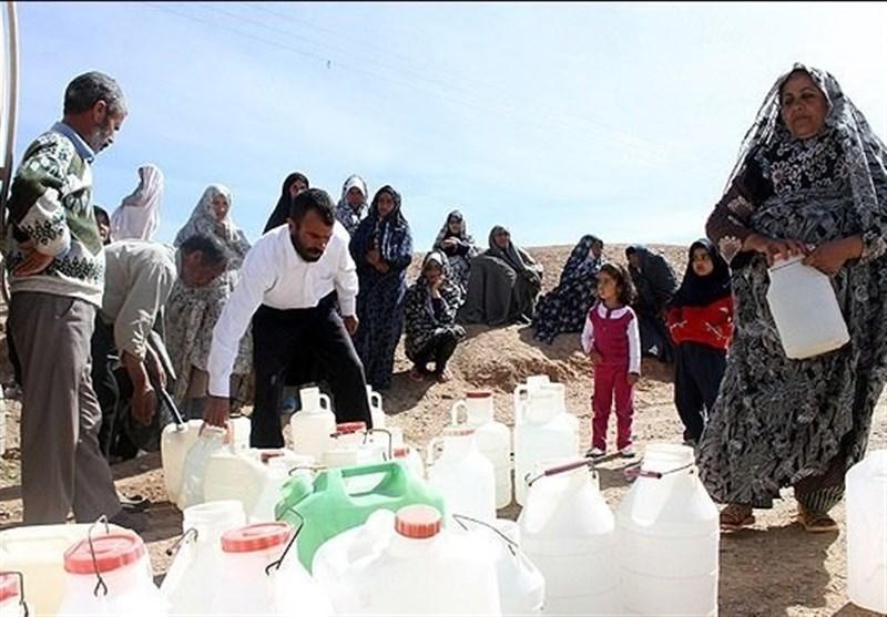 """جیرهبندی یک ماهه آب در روستای """" عرب خنیمه"""""""