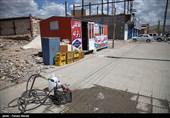 کرمانشاه| نقاطی از شهر زلزلهزده سرپلذهاب آنتندهی موبایل ندارد 