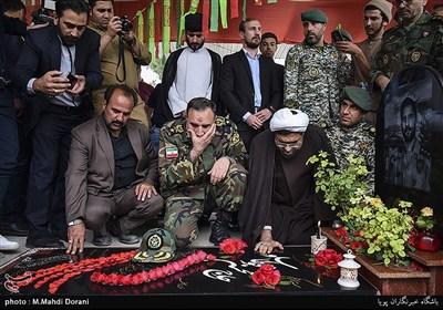 دومین سالگرد شهادت اولین شهید مدافع حرم ارتش محسن قوطاسلو با حضور امیر کیومرث حیدری فرمانده نزاجا
