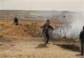 """إصابات وحالات اختناق فی جمعة """"عمال فلسطین"""""""