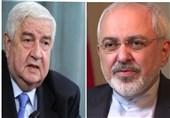 تماس تلفنی ظریف با المعلم؛ تاکید بر روابط استراتژیک ایران-سوریه