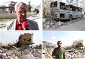 ویدئوی اختصاصی تسنیم از مرکز علمی «برزه»| دروغ آمریکا برملا شد؛مرکز تولید داروی ضد سرطان دمشق بمباران شد