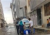 زاهدان| توزیع آب رایگان بهوسیله 65 تانکر در زاهدان آغاز شد