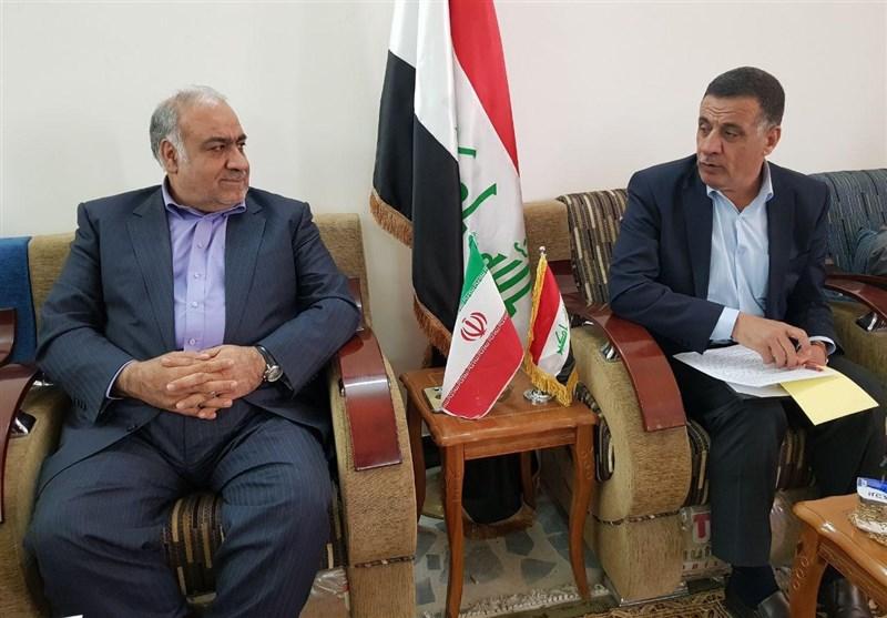 کرمانشاه| استان کرمانشاه برای بازسازی و تأمین زیرساختهای دیالی عراق آماده همکاری است