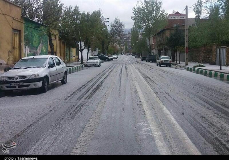 مازندران|محورهای مواصلاتی مازندران لغزنده و بارانی است