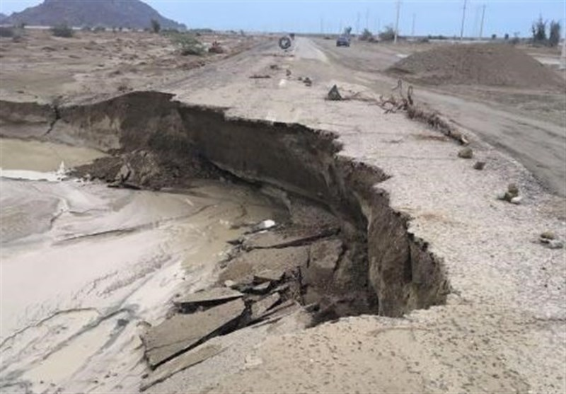 بارندگیبه راههای مواصلاتی و ابنیه فنی خراسان جنوبی 480 میلیارد ریال خسارت زد