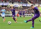فوتبال جهان  فیورنتینا در خانه به تساوی رضایت داد