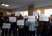 اعتراض دانشجویان دانشگاه تربیت مدرس به مشکلات صنفی