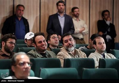سیدمحمود رضوی و محمد حسین مهدویان یکی از کاندیداهای چهره سال هنر انقلاب اسلامی در سال 96