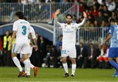 لالیگا  رئال مادرید با برتری در خانه قعرنشین رده سوم را پس گرفت