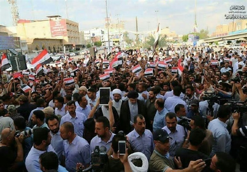 People Take to Baghdad Streets to Slam US-Led Attack on Syria