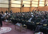 مراسم معارفه جانشین جدید سازمان بسیج برگزار شد