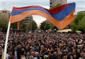 Armenians Protest against Ex-Leader's Move to Stay in Power