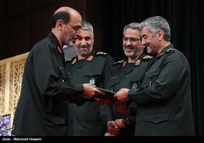 مراسم معارفه سردار محمدحسین سپهر جانشین جدید سازمان بسیج